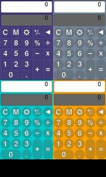 Colorful calculator screenshot 14