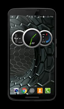 Zooper Black Car Dash screenshot 2