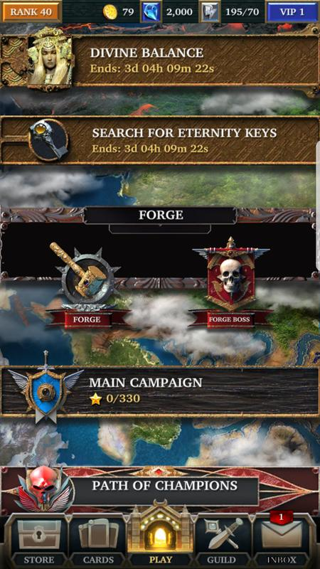 Legendary game of heroes pc