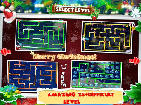 Christmas Maze Adventure for kids screenshot 1