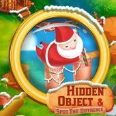 Christmas Hidden Object & Spot The Difference icon