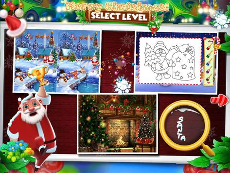 Christmas Hidden Object & Spot The Difference poster