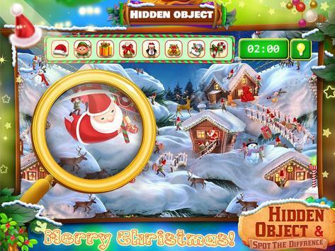 Christmas Hidden Object & Spot The Difference screenshot 1