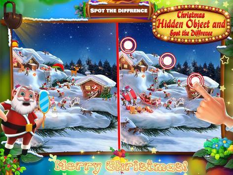 Christmas Hidden Object & Spot The Difference screenshot 2