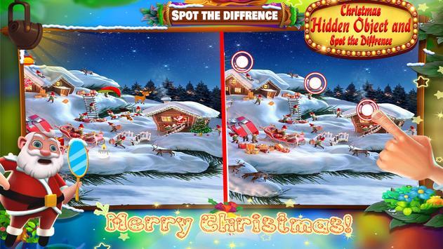 Christmas Hidden Object & Spot The Difference screenshot 9