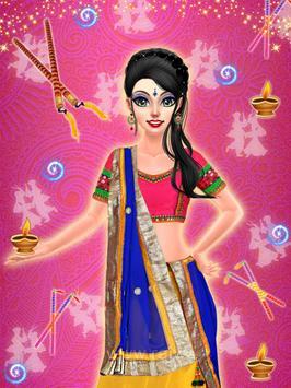 Navratri Fashion Salon - Makeover and Dressup Game apk screenshot
