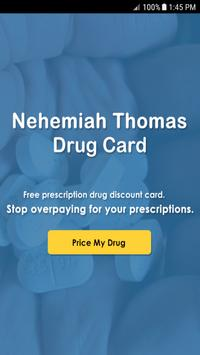 Thomas Drug Card poster