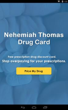 Thomas Drug Card apk screenshot
