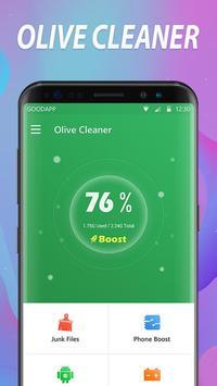 Olive Cleaner poster