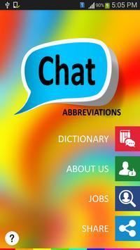 Chat Abbreviations poster