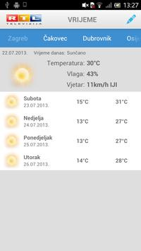 RTL Televizija (+widget) apk screenshot