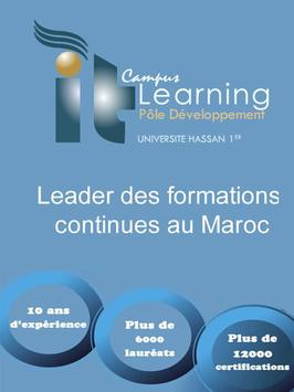 IT Learning Campus  FST Settat poster