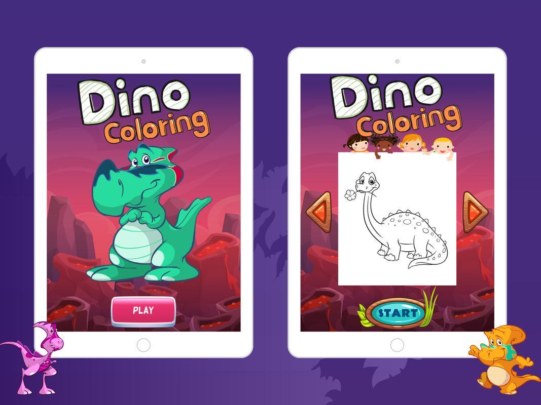 Dinosaur Coloring Book Apk Screenshot