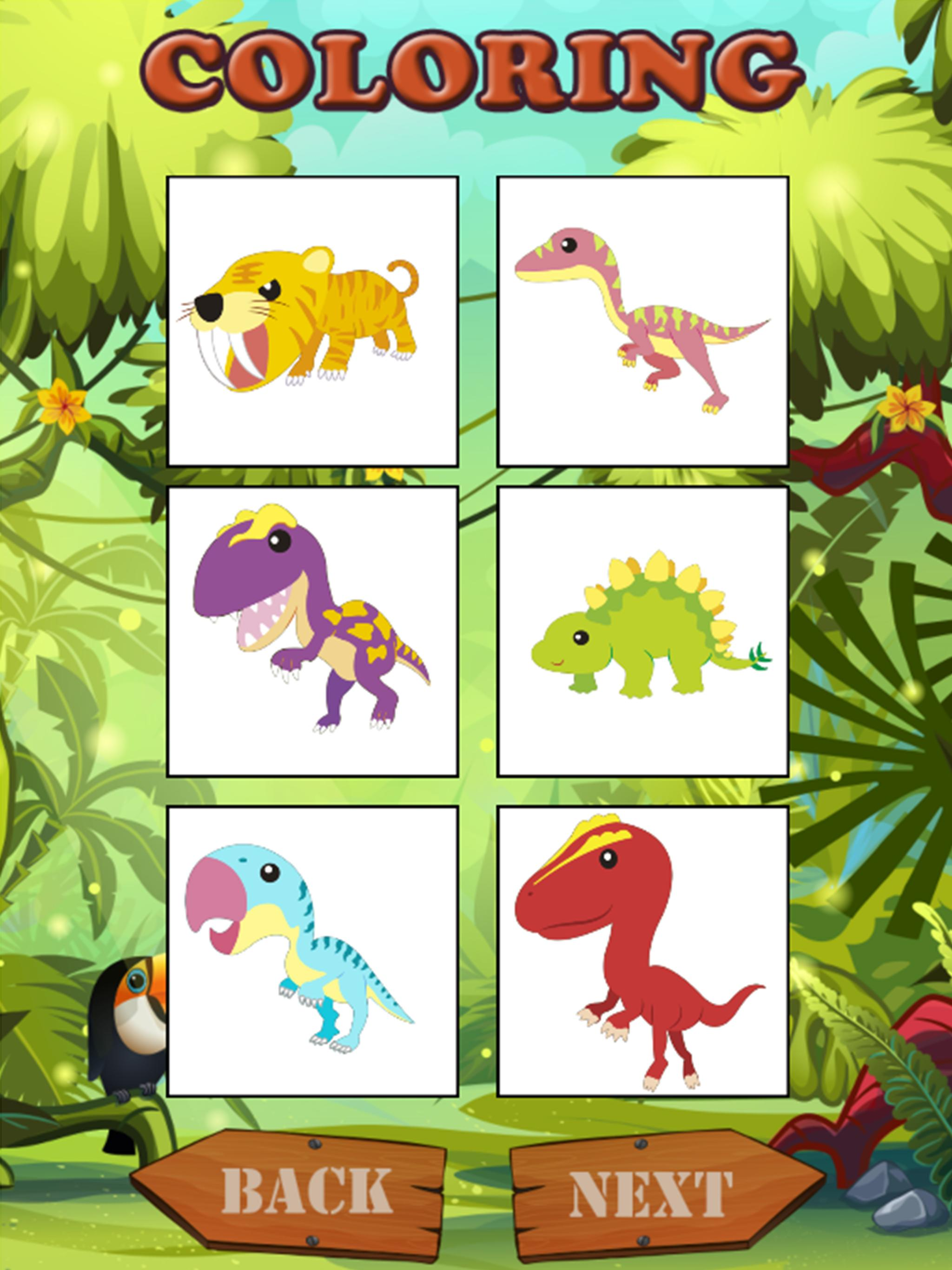 dinosaur coloring games for Android - APK Download