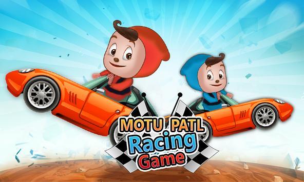 Motu or Patlu Racing Game poster