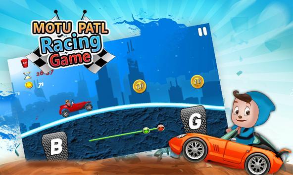 Motu or Patlu Racing Game apk screenshot