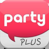 파티 plus icon