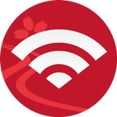 Japan Connected-free Wi-Fi icon