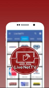 Live NetTV Streaming Free Pro Guide स्क्रीनशॉट 1
