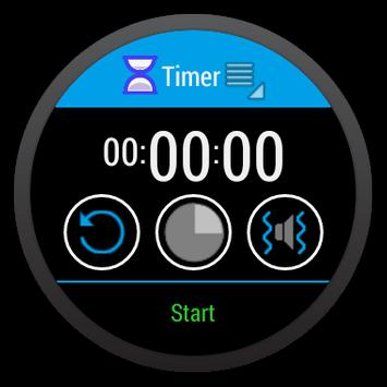 Timer for android wear apk screenshot