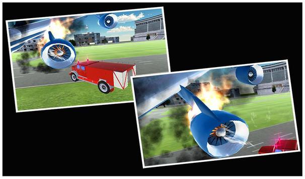 911 Airport Plane Fire Fighter apk screenshot