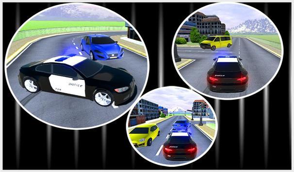 Crazy Police Prisoner Car 3D apk screenshot