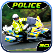 Police Bike Prisoner Chase Sim icon
