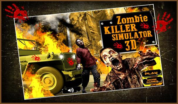Zombie Killer Simulator 3D screenshot 10