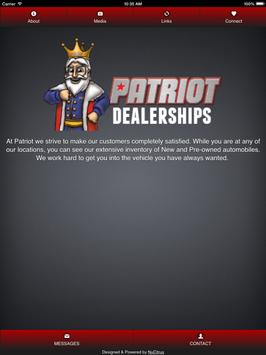 Patriot Dealerships apk screenshot