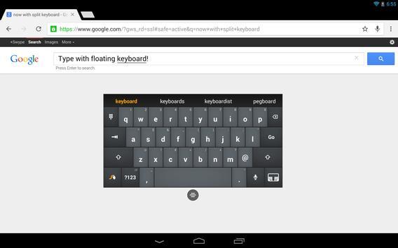 Swype DLT Test apk screenshot