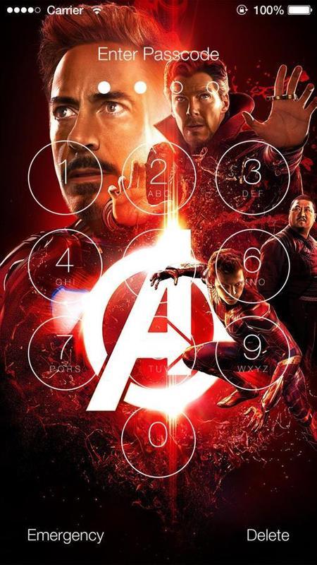 ... Avengers Infinity War Wallpaper Lock Screen screenshot 4 ...