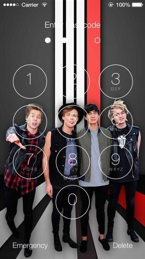 5 Seconds Of Summer 5sos Wallpaper Lock Screen For Android