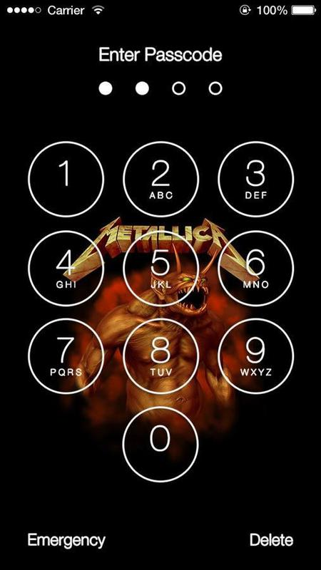 ... Metallica Wallpaper Lock Screen screenshot 7