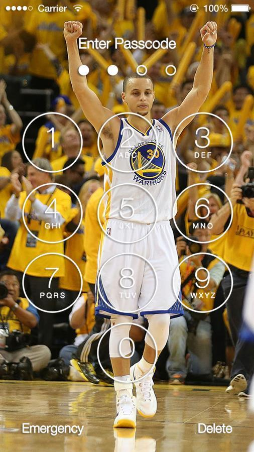 Stephen Curry Wallpaper Lock Screen poster Stephen Curry Wallpaper Lock Screen screenshot 1 ...