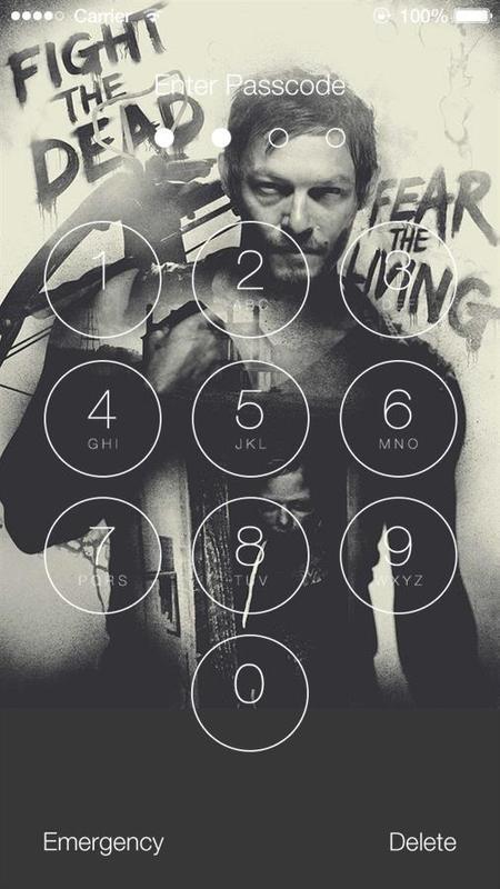 the walking dead phone wallpaper