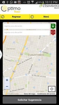 Optimo Rutas screenshot 3