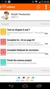 EdDiary apk screenshot