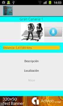 Canarias a pie apk screenshot