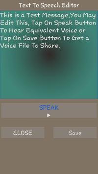 Easy Text To Speech screenshot 1