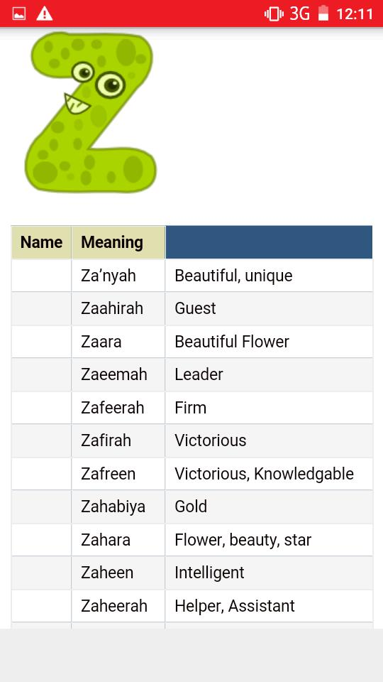 Kids Islamic Names (GIRLS) 2018 for Android - APK Download