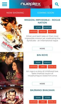 Nueplex Cinemas screenshot 1