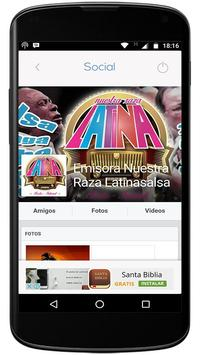 Nuestra Raza Latina apk screenshot