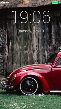 Classic Car Lock Screen screenshot 3