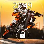 Sport Moto Lock Screen icon