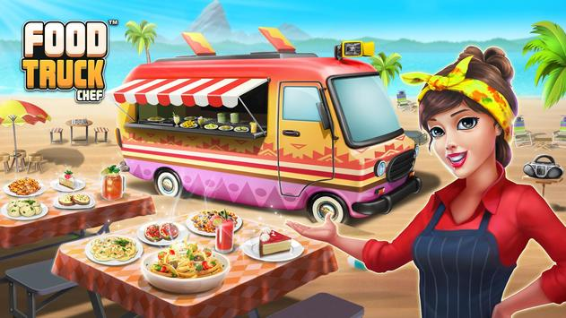 Poster Food Truck Chef™: Cucina in movimento