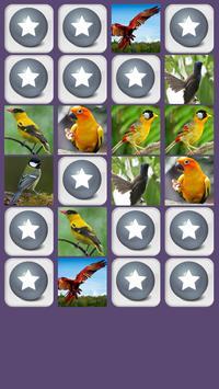 Aves Juego de Memoria captura de pantalla 1