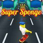 Super Sponge bob Running icon