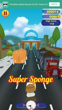 Super Sponge bob Running screenshot 1