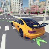 Школа вождения 3D иконка