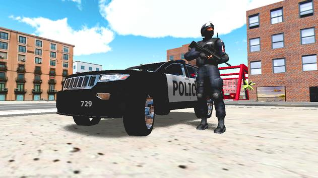 Police Car Driver 3D poster